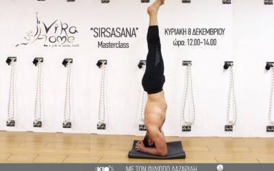 Sirsasana masterclass