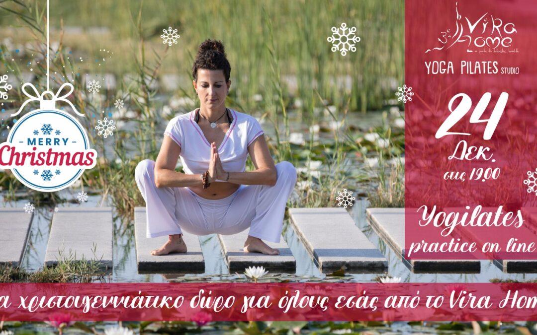 Christmas present: Yogilates for all!